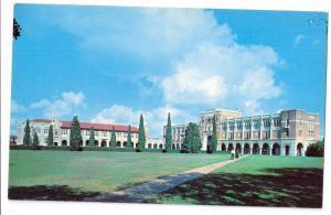 Rice Institute Campus Houston Texas TX Postcard