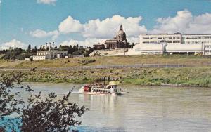 Little Klondike Queen, Popular Paddlewheel Excursion Boat, Edmonton, Albert...