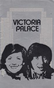Cilla Black Jimmy Tarbuck London Victoria Palace Musical Theatre Programme