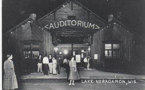 RP: LAKE NEBAGAMON , Wis. , 1930-40s ; Auditorium