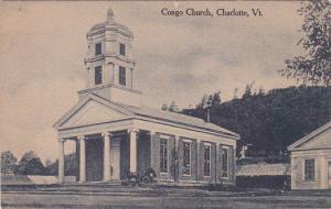 CHARLOTTE, Vermont, 1900-1910s; Congo Church