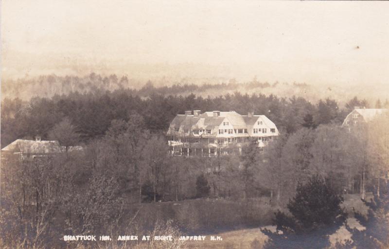 RP: JAFFREY , New Hampshire, 00-10s; Shattuck Inn, Annex at right