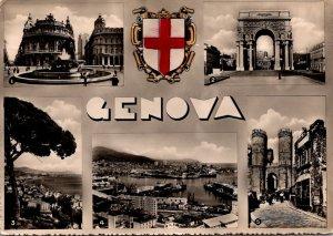 Italy Genova Multi View 1955