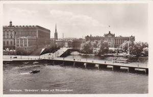 RP; Stockholm, Strombron, Slottet och Riksdagshuset, Switzerland, 10-20s