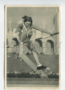 428084 SPORT Olympiade 1932 high jump champion Jane Shilley Tobacco ADVERTISING