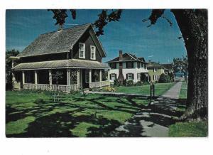 Main Street Port Gamble Oregon Restored 19th Century Company Town