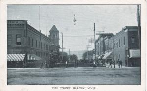 BILLINGS , Montana, 1910-20s; 28th Street
