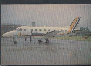 Aviation Postcard - Britt Air Embraer EMB-110P2 Bandeirante Aeroplane T3530