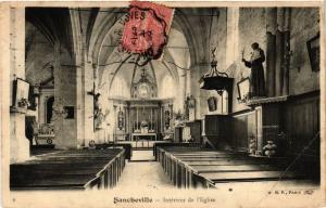 CPA  Sancheville - Interieur de l'Eglise  (385658)