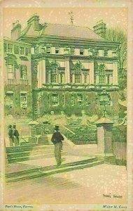 Harrow Pope's House Walter M. Keesey Postcard