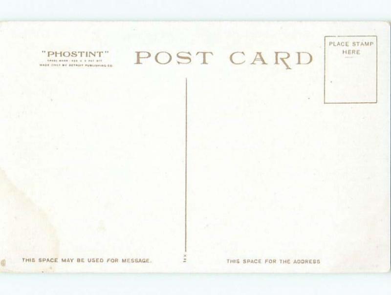 Divided-Back DARK THOUSAND ISLANDS Chippewa Bay - Hammond New York NY W5985