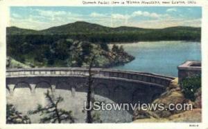 Quanah Parker Dam Lawton OK 1944 Missing Stamp