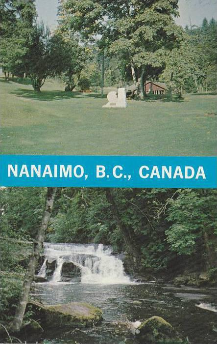 Nanaimo , BC , Canada , 40-60s Double View #1