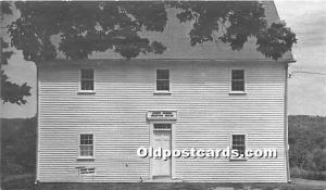 Old Vintage Shaker Post Card Boys' Shop 1850 produced 1974 Sabbathday La...