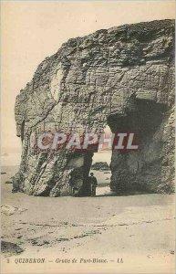 Old Postcard Quiberon - Port-Blanc Cave