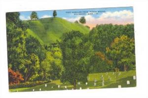 Fort Nogales From Indian Mound, Vicksburg, Mississippi, 1930-1940s