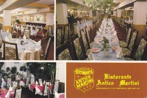 Modern banquet room, Ristorante, Antico Martini, Montreal, Quebec,  Canada, P...