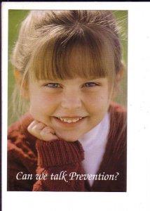 Can we talk Pervention?, Optometrist Reminder Postcard, Halifax, Nova Scotia
