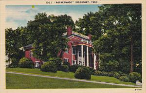 Tennessee Kingsport Rotherwood Built In 1818