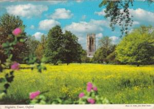 England Oxford Magdalen Tower 1978