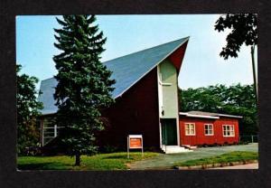 MA Wesley United Methodist Church DORCHESTER MASS Massachusetts Postcard PC