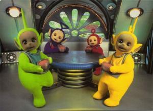 British Pre-School Children's Television Series TELETUBBIES (1996) 2