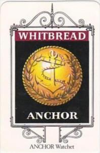 Whitbread Brewers Trade Card Maritime Inn Signs No 21 Anchor Watchet