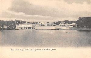 Worcester Massachusetts Lake Quinsigamond White City Vintage Postcard JD933459