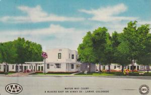 Exterior, Motor Way Court, Lamar, Colorado,40-60s