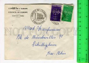 425062 FRANCE Council of Europe 1959 year Strasbourg European Parliament COVER