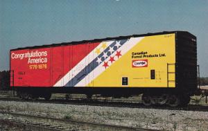 CANADA, 40-60s; Canadian Forest Products, Ltd., Specially Designed & Pained Rail