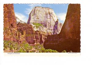 Temple at Sinawava, Zion National Park, Utah, Photo George McLean