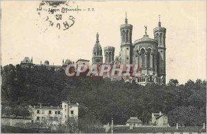 Old Postcard Lyon Fourviere