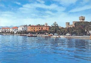 Italy Lago di Garda Sirmione, Panorama Lac Boats Voitures Cars Lake