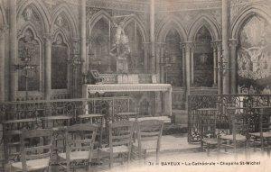 La Cathedrale,Chapelle St Michel,Bayeux,France BIN