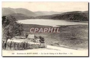 Le Mont Dore - Lake Guery and Mont Dore - Old Postcard