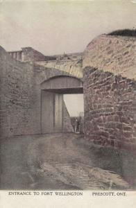 PRESCOTT , Ontario , Canada , 00-10s ; Entrance to Fort Wellington # 2