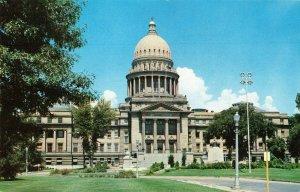 Postcard State Capitol Boise Idaho