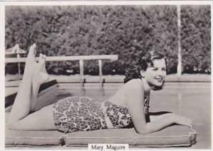 Phillips Vintage Cigarette Card Beauties Of To-Day 7th Series 1939 No 24 Mary...