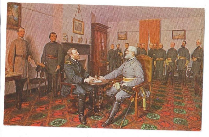 Painting Guillaume Surrender of Lee to Grant Appomattox VA