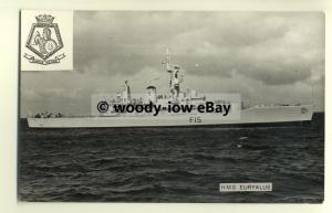 na1510 - Royal Navy Warship -  HMS Euryalus - photograph
