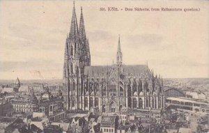 Germany Koeln Dom Suedseite