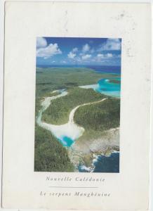 Nouvelle Caledonie, Le Serpent Manghenine, used Postcard