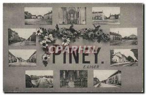 Piney E Liger Old Postcard