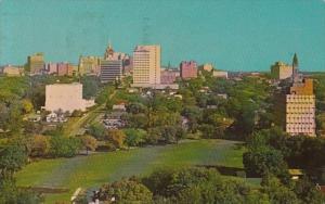 Oklahoma Tulsa Skyline 1963