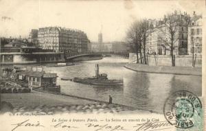 CPA Paris 7e (Dep. 75) La Seine á travers Paris (83684)