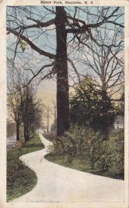 Myers Park , CHARLOTTE , North Carolina , PU-1917