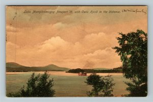 Newport VT-Vermont, Lake Memphremagog Vintage c1908 Postcard
