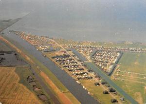 Netherlands Workum Panorama Camping Aerial view