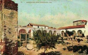 California Mission San Juan Capistrano Postcard
